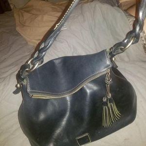 Dooney & Bourke Bag Black Leather Purse